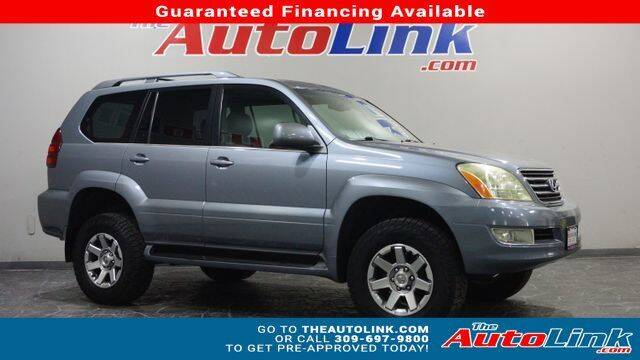 2004 Lexus GX 470 for sale at The Auto Link Inc. in Bartonville IL