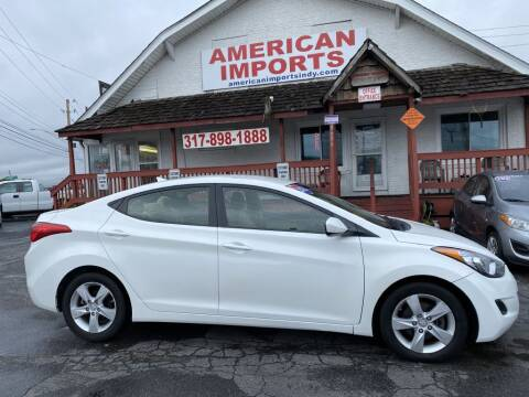 2013 Hyundai Elantra for sale at American Imports INC in Indianapolis IN