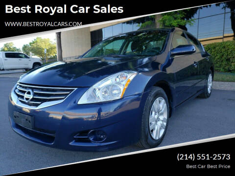 2011 Nissan Altima for sale at Best Royal Car Sales in Dallas TX