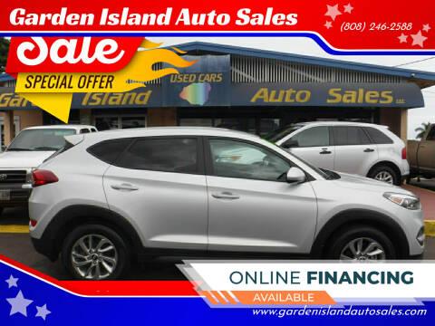 2017 Hyundai Tucson for sale at Garden Island Auto Sales in Lihue HI