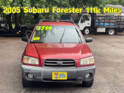 2005 Subaru Forester for sale at Emory Street Auto Sales and Service in Attleboro MA