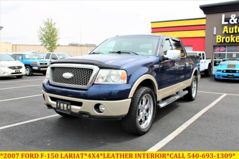 2007 Ford F-150 for sale at L & S AUTO BROKERS in Fredericksburg VA