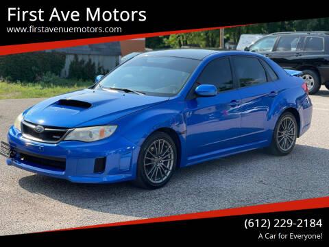 2013 Subaru Impreza for sale at First Ave Motors in Shakopee MN