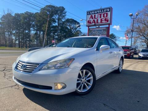 2012 Lexus ES 350 for sale at Carafello's Auto Sales in Norfolk VA