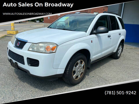2006 Saturn Vue for sale at Auto Sales on Broadway in Norwood MA