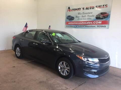 2016 Kia Optima for sale at Antonio's Auto Sales - Antonio`s  2206 in Pasadena TX