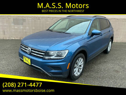 2018 Volkswagen Tiguan for sale at M.A.S.S. Motors in Boise ID