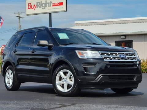 2018 Ford Explorer for sale at BuyRight Auto in Greensburg IN