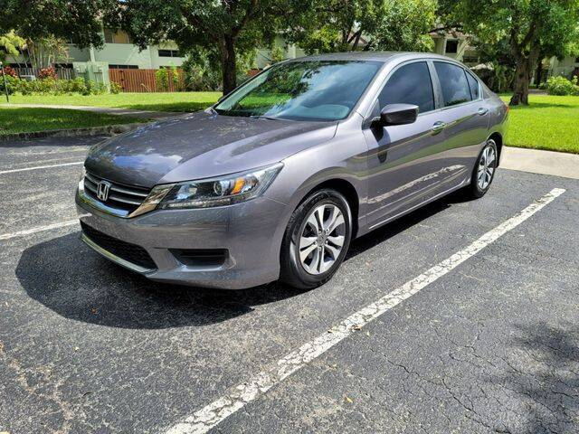 2013 Honda Accord for sale at Fort Lauderdale Auto Sales in Fort Lauderdale FL
