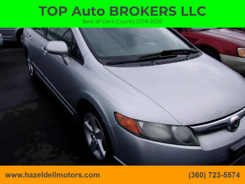 2006 Honda Civic for sale at TOP Auto BROKERS LLC in Vancouver WA