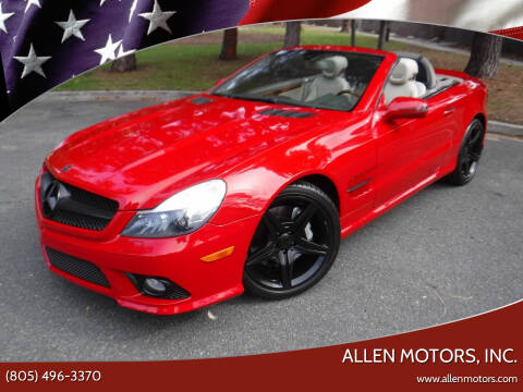 2009 Mercedes-Benz SL-Class for sale at Allen Motors, Inc. in Thousand Oaks CA