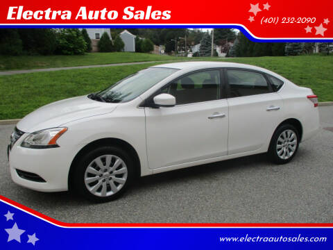 2014 Nissan Sentra for sale at Electra Auto Sales in Johnston RI