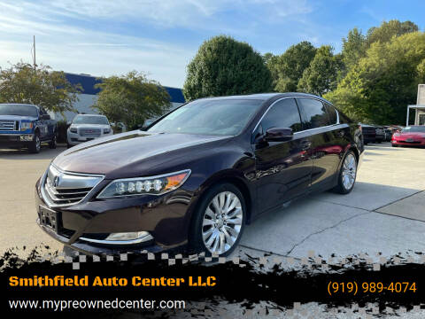 2014 Acura RLX for sale at Smithfield Auto Center LLC in Smithfield NC