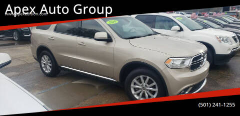 2015 Dodge Durango for sale at Apex Auto Group in Cabot AR
