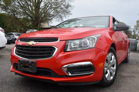 2015 Chevrolet Cruze for sale at Wheel Deal Auto Sales LLC in Norfolk VA