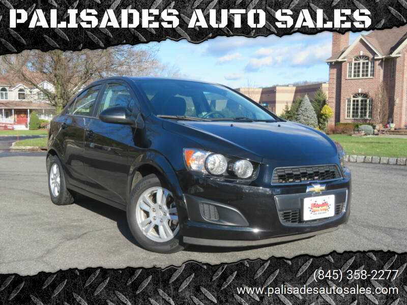 2016 Chevrolet Sonic for sale at PALISADES AUTO SALES in Nyack NY