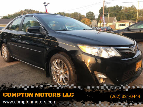 2013 Toyota Camry for sale at COMPTON MOTORS LLC in Sturtevant WI