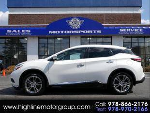 2017 Nissan Murano for sale at Highline Group Motorsports in Lowell MA