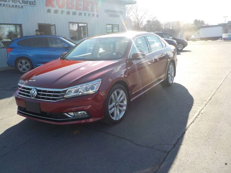 2017 Volkswagen Passat for sale at Roberti Automotive in Kingston NY