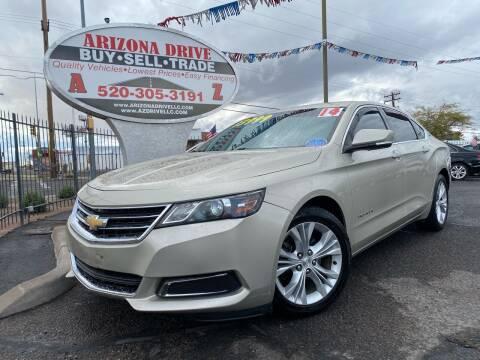 2014 Chevrolet Impala for sale at Arizona Drive LLC in Tucson AZ