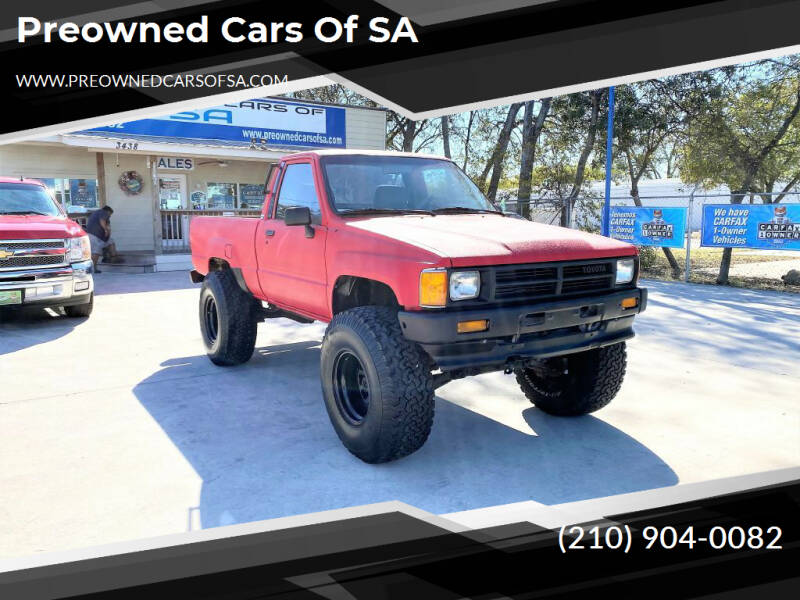 Preowned Cars Of Sa Car Dealer In San Antonio Tx