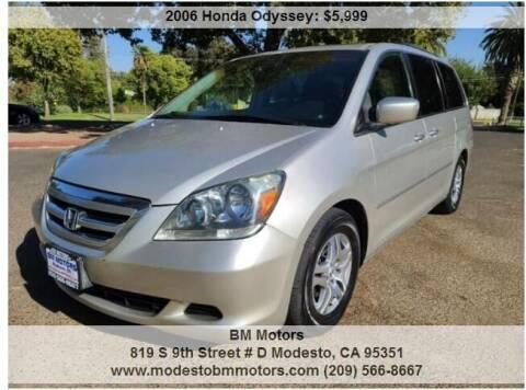 2006 Honda Odyssey for sale at BM Motors in Modesto CA