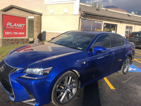 2016 Lexus GS 350 for sale at PLANET AUTO SALES in Lindon UT