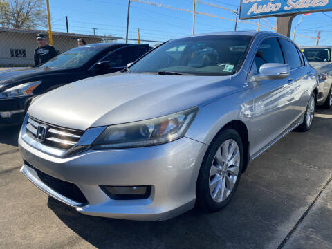 2014 Honda Accord for sale at Bobby Lafleur Auto Sales in Lake Charles LA