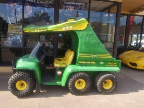 2010 John Deere Gator Side X Side 6 wheeler for sale at Suzuki of Tulsa in Tulsa OK