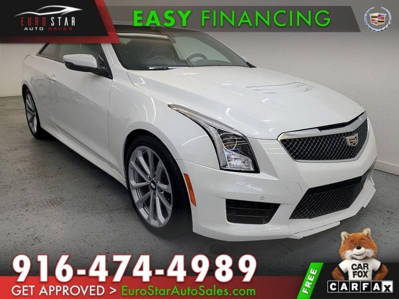 2016 Cadillac ATS-V for sale in Rancho Cordova, CA