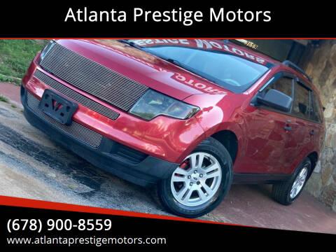 2008 Ford Edge for sale at Atlanta Prestige Motors in Decatur GA