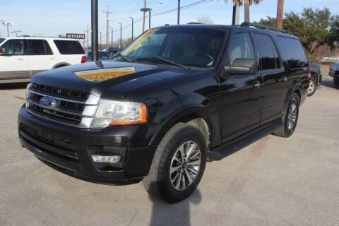 2015 Ford Expedition EL for sale at Flash Auto Sales in Garland TX