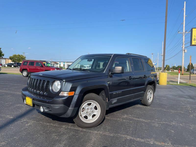 2014 Jeep Patriot for sale at Giovannis Auto in Peru IL