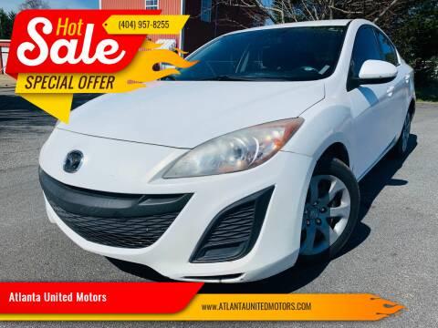 2011 Mazda MAZDA3 for sale at Atlanta United Motors in Buford GA