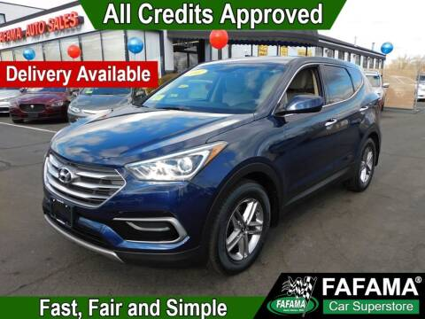 2017 Hyundai Santa Fe Sport for sale at FAFAMA AUTO SALES Inc in Milford MA