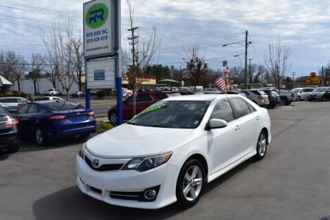2013 Toyota Camry for sale at Rite Ride Inc in Murfreesboro TN