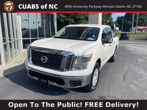 2018 Nissan Titan for sale at Credit Union Auto Buying Service in Winston Salem NC