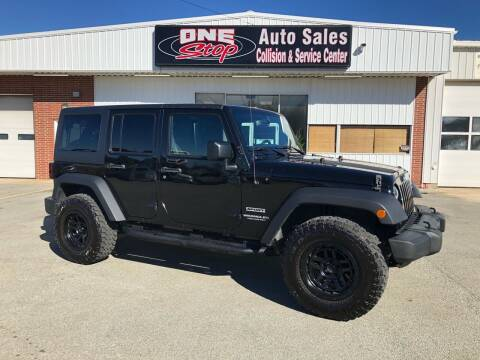 2017 Jeep Wrangler Unlimited for sale at One Stop Auto Sales, Collision & Service Center in Somerset PA