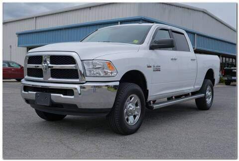 2018 RAM Ram Pickup 2500 for sale at STRICKLAND AUTO GROUP INC in Ahoskie NC