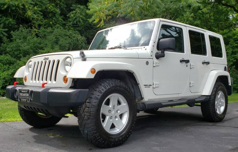 2010 Jeep Wrangler Unlimited for sale at The Motor Collection in Columbus OH