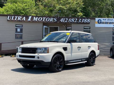 2009 Land Rover Range Rover Sport for sale at Ultra 1 Motors in Pittsburgh PA