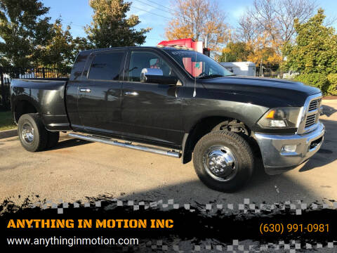 2010 Dodge Ram Pickup 3500 for sale at ANYTHING IN MOTION INC in Bolingbrook IL