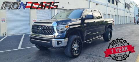 2018 Toyota Tundra for sale at IRON CARS in Hollywood FL