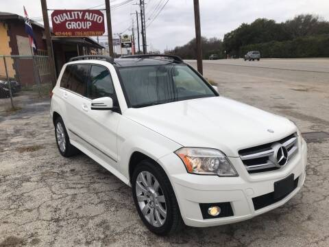 2011 Mercedes-Benz GLK for sale at Quality Auto Group in San Antonio TX