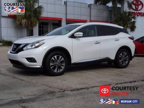 2015 Nissan Murano for sale at Courtesy Toyota & Ford in Morgan City LA