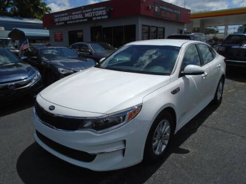 2017 Kia Optima for sale at International Motors in Laurel MD
