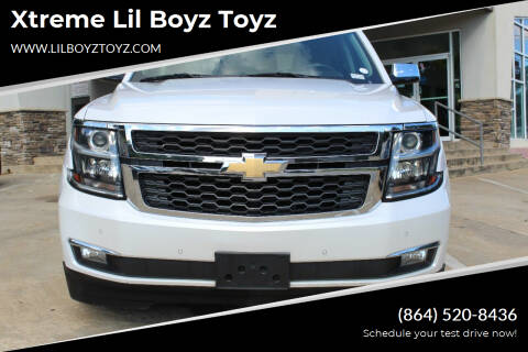 2017 Chevrolet Tahoe for sale at Xtreme Lil Boyz Toyz in Greenville SC