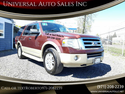 2010 Ford Expedition for sale at Universal Auto Sales Inc in Salem OR