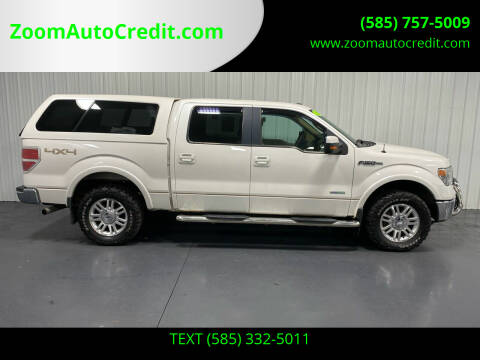 2013 Ford F-150 for sale at ZoomAutoCredit.com in Elba NY