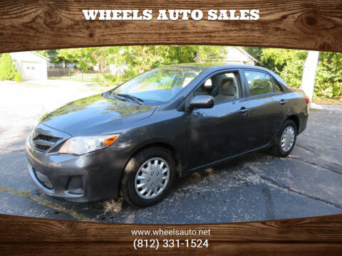 2011 Toyota Corolla for sale at Wheels Auto Sales in Bloomington IN